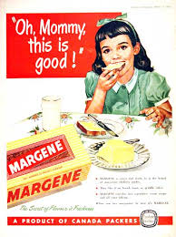 Oh mommy:margarine