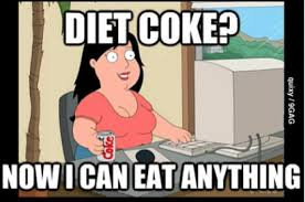 diet coke woman