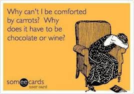 comfort w chocolate :wine