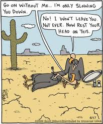 far side vultures