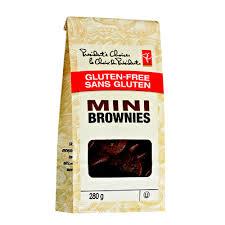 gluten free mini brownies