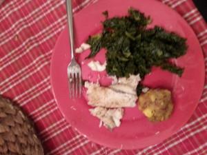 mogongo dinner