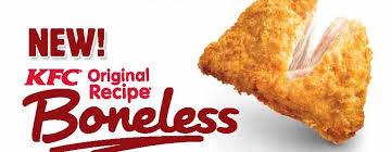 KFC boneless