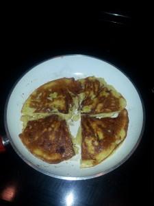 banana & egg pancake